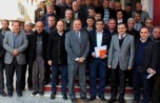 Muhtarlar, AYDEM Yetkilileriyle Toplantı Yaptı