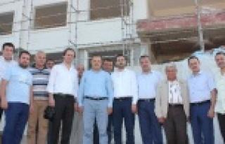 AK Parti Milletvekili Öz'den Karpuzlu'ya Ziyaret