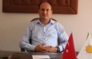 """AKP'li Başkan Tosun, """"Sezar'ın Hakkını Sezar'a..."""