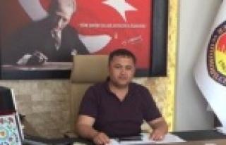 Çine Şoförler Odası Başkanı Bircan Öter'den...