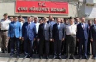 Aydın Valisi Yavuz Selim Köşger, Çine'yi Ziyaret...