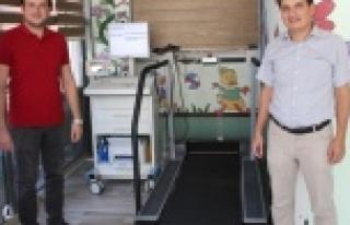 ÇDH'nde Eforlu EKG Cihazı Hizmete Girdi