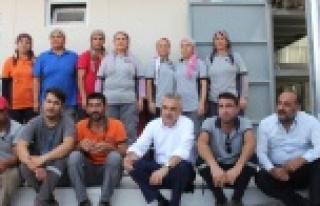 Mustafa Savaş, Eysim Maden İşçileriyle Bir Araya...
