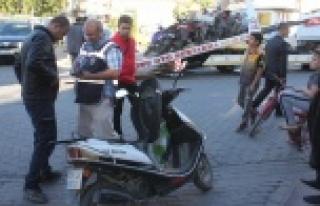 Çine Emniyet' ten Motosiklet Uygulaması
