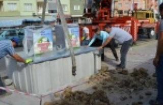 Çine'de Çöp Konteynerleri Yeraltına İndi
