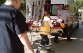 Çine'de Motosiklet Kazası: 1 Yaralı