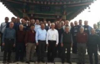 Dinçer Çineli esnaflarla YAPEX 2017'e katıldı