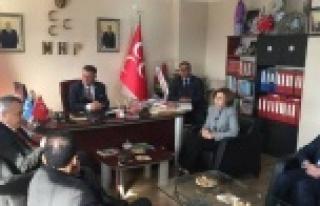 AK Parti Milletvekili Savaş, MHP'yi ziyaret etti