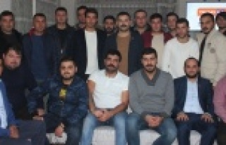 CHP Gençlik Kolları Mert Korkut'u Tekrar Başkan...