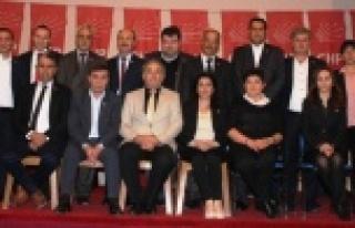 Çine CHP'de Tayfun Şahin Yeniden Başkan