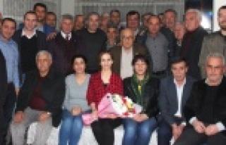 Ziraat Odası'dan, CHP İlçe Örgütüne Tebrik...