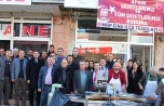 MHP Teşkilatı'ndan Şehitler İçin Lokma Hayrı