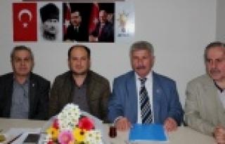 AK Parti Çine İlçe Başkanına ve Yönetimine Hayırlı...