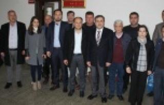 AK Parti Çine İlçe Teşkilatı'ndan Kurumlara...