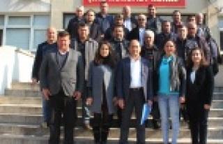 Çine AK Parti İlçe Başkanı ve Yönetimi Mazbatalarını...