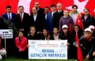 Çine'de Afrin Şehitleri Adına Zeytin Fidanı...