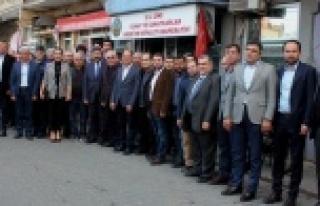 AK Parti Aydın İl Başkanı Esnaf ve Çine Teşkilatı...