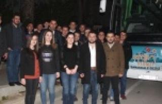 Çineli AK Gençler Çanakkale'ye Gitti