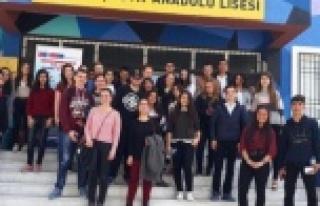 Erasmus Projesi ile Akçaova Anadolu Lisesi