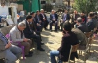Gazi Hakan Oktay'ı, Başkanlar Ziyaret etti