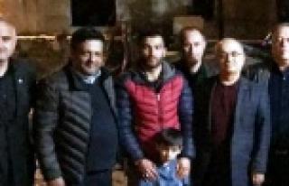İYİ Parti Çine İlçe Başkanlığı, Afrin Gazisi...