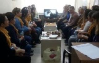 AK Partili Kadınlar Baro'yu Ziyaret Etti