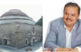 """Milletvekili Öz, """"Çine Ahmet Gazi Camii ve Ahi..."""