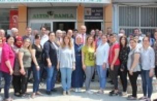 AK Parti Aday Adayları, Çine Teşkilatı Ziyaret...