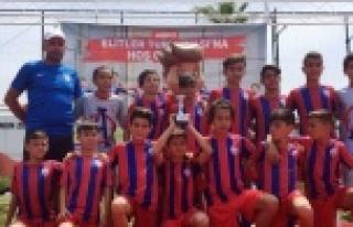 """Altınordu Çine Futbol Okulu """"Biz Büyük Bir Aileyiz"""""""