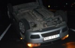 Çine'de Otomobil Takla Attı: 3 Yaralı