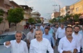 AK Parti Aydın Milletvekili Mustafa Savaş'a Coşkulu...