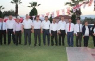 MHP Çine İlçe Teşkilatı İftar Yemeği Düzenledi