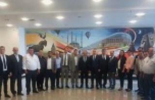AK Parti Çine İlçe Teşkilatından Milletvekillerine...