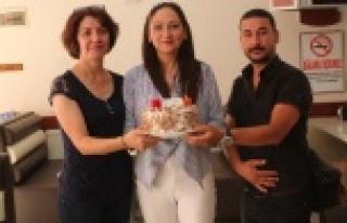 AK Parti Çine Kadın Kolları, Basın Bayramını...