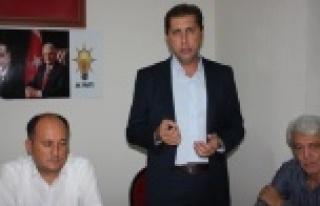 AK Parti'den, Kandemir Belediye Başkan Aday Adaylığını...