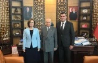 MHP'li Pehlivan, Yerel Seçim Çalışmalarını...