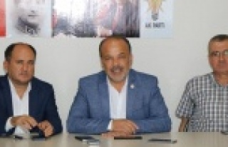AK Partili Yavuz Çine'yi Ziyaret Etti