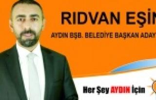 Rıdvan Eşin, AK Parti'den Aydın Büyükşehir...