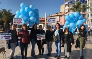 Aydın'da AK Kadınlar Diyabet İçin Yürüdü