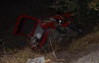 Tek Taraflı Kazada Bir Kişi Hayatını Kaybetti