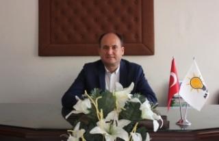 AK Parti Çine İlçe Başkanı Mehmet Tosun Engelliler...