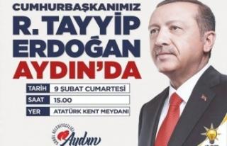 Başkan Tosun, Cumhurbaşkanımız Erdoğan 9 Şubat...