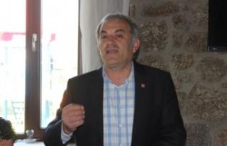 "CHP İlçe Başkanı Şahin, ""AKP Vatandaşa Umut..."