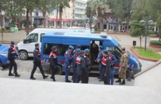 Çine Jandarmasından Suçlu Avı: 8 Gözaltı