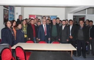 Çine'de, İYİ ve CHP'li 30 Kişi AK Parti'ye...