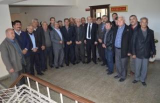 Kaymakam Erdoğan, Muhtarlarla Bir Araya Geldi