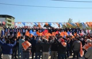 "Akçaova Mitinginde Celal Özden, ""CHP'de Korku..."