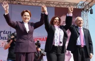 Kılıçdaroğlu ve Akşener'den Aydın'da...
