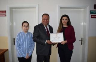 2. Kez Belediye Başkanı Seçilen Dinçer Mazbatasını...