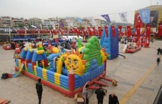 Büyükşehir Etkinlikleriyle 23 Nisan'da Çocuklar...